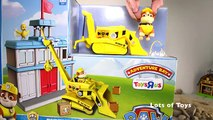 PAW PATROL RUBBLES POST OFFICE RESCUE ADVENTURE BAY, ROCKYS TUGBOAT, RUBBLE BULLDOZER, MARSHALL