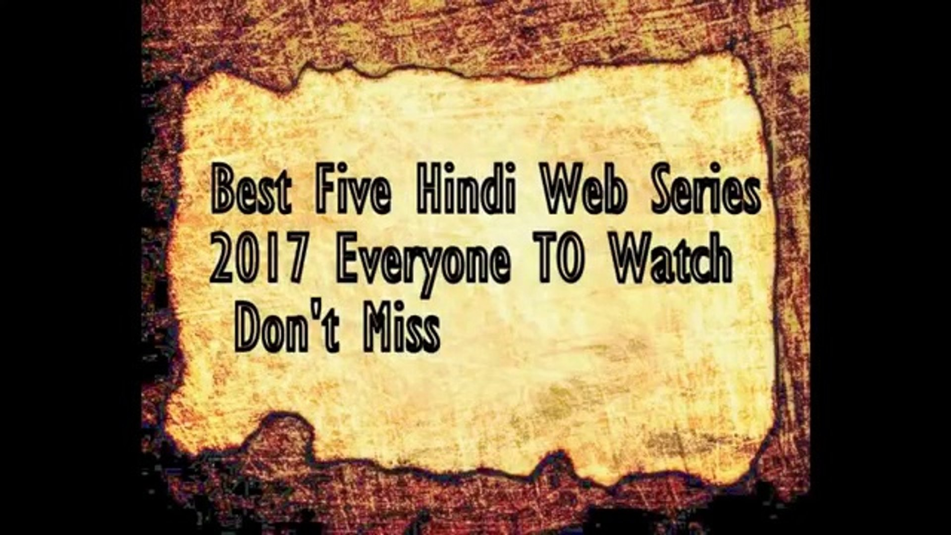Top adult web series of 2018!!!!!!! DONT MISS¡!!!!!!