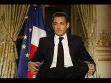 Le message radio de Nicolas Sarkozy