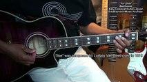 Fur Elise(Fuer Elise) Beethoven Easy Classical Guitar Lesson EricBlackmonMusicHD YouTube