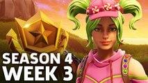 Fortnite: Battle Royale - Season 4 Week 3 Challenge Locations