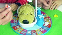 JEU FUN - ATTENTION au CHIEN qui MOUILLE ! - SOGGY DOGGY game - On Joue en famille  Démo Jouets