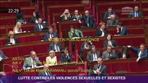 Grosse colère cette nuit à l'Assemblée de la Secrétaire d'Etat, Marlène Schiappa, après les allusions d'un député sur sa sexualité
