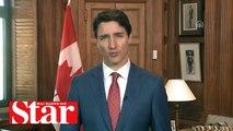 Justin Trudeau mesajına 'Selamünaleyküm' diyerek başladı