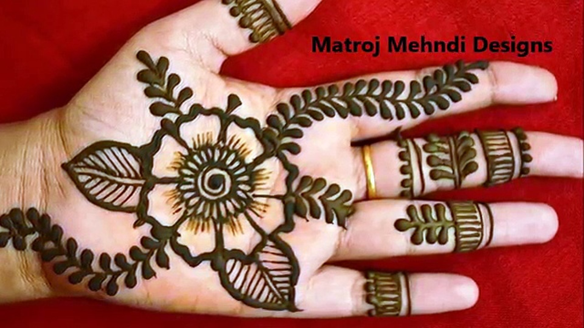 new stylish simple easy mehndi designs for hands|mehndi designs|Matroj  Mehndi Designs