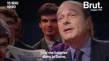 Quand Jacques Chirac promettait de se baigner dans la Seine
