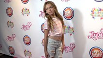 "Coco Quinn ""JoJo Siwa's 15th Birthday Party"" Pink Carpet"