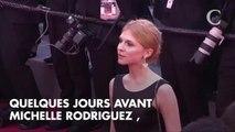 PHOTOS. Cannes 2018 : Michelle Rodriguez torride en bikini entre deux montées des marches