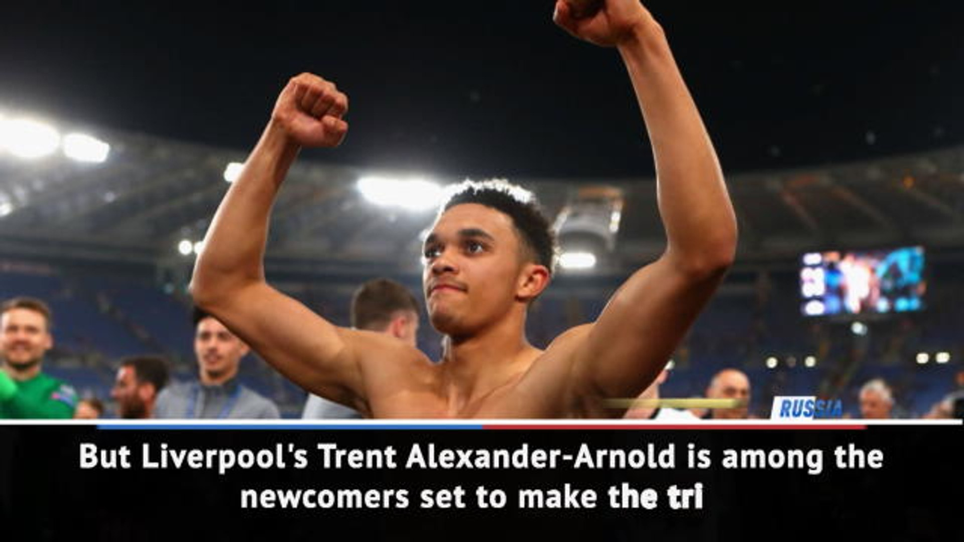Breaking News Alert - Southgate names Alexander-Arnold in World Cup squad