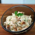 Un petit risotto plein de saveurs, au champignon et au parmesan, miam !La recette :