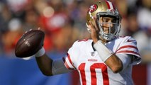 John Lynch on Jimmy Garoppolo: Last season was enough for us to believe in him as our franchise QB