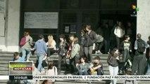 Profesores de secundaria en Uruguay realizan paros regionales