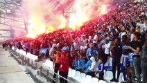 Finale OM-Atlético : une fan zone bien remplie à Marseille