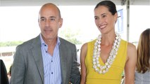 Matt Lauer's Wife Requests 'One-Time Cash Payout'