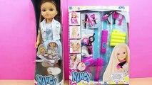 Muñeca Nancy Cumpleaños | Set de Peluquería para Nancy en español | Nancy va a la peluquería