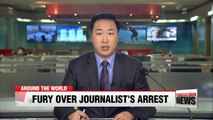 Hong Kong journalist violently arrested by Chinese police while trying to interview human rights lawyer