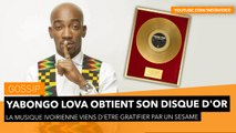 Yabongo Lova obtient son Disque d'Or