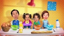 JOYEUX ANNIVERSAIRE AMANTINE ! Goûter et gâteau d'anniversaire pour ses 4 ans - Fête en Famille