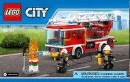 2017 Lego City Dragster Transporter instructions 60151