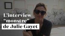 """De """"Alien"""" à Bill Murray : l'interview """"monstre"""" de Julie Gayet"""