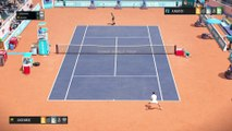 Tennis World Tour - John McEnroe vs Andre Agassi (Legends Edition)
