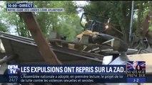 NDDL: les gendarmes et les pelleteuses sont de retour pour une nouvelle opération d'expulsion