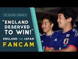 'ENGLAND DESERVED TO WIN!' | England 1-2 Japan FANCAM | 2015 FIFA WWC