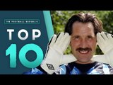 Top 10 Footballer's Moustaches! | Valderama, Seaman and more!