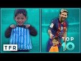 TOP 10 NICEST GUYS IN FOOTBALL! | Lionel Messi, Cristiano Ronaldo, Zlatan Ibrahimovic