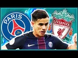 Philippe Coutinho To PSG For £80 Million!? | TRANSFER TINDER with Football Whispers and The Front 3