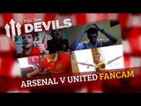 Van Persie Penalty vs Arsenal | Arsenal 1 Manchester United 1 | DEVILS FANCAM