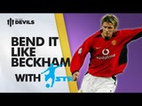 Learn David Beckham Skills | Manchester United Skills with STR Skill School