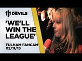 Is He United Quality?   Fulham Vs Manchester United 1-3   FanCam