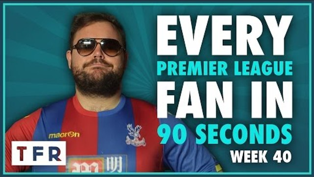 FOOTBALL? NAH MATE, I WAS ON THE BEACH!! | EVERY PREMIER LEAGUE FAN IN 90 SECONDS