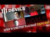 Van Persie Goal/Hernandez Goal | WBA 5 Manchester United 5 2nd Half | DEVILS FANCAM