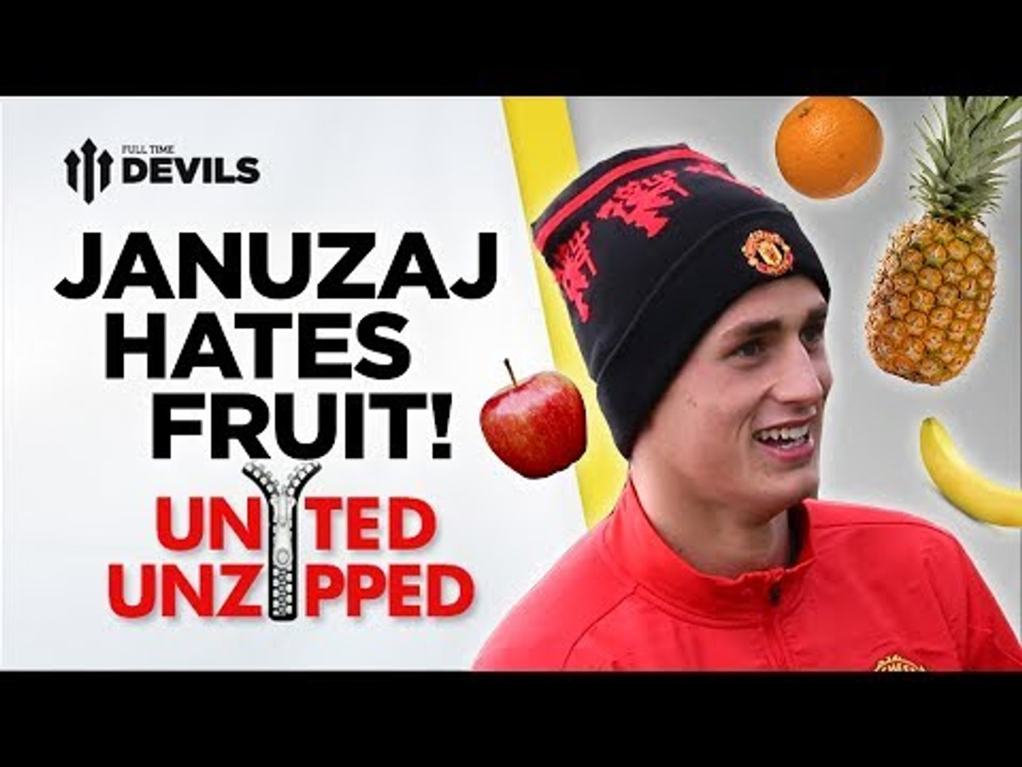 Januzaj Hates Fruit! | United Unzipped | Manchester United News