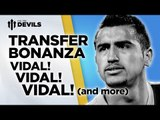 Vidal! Vidal! VIDAL! | Manchester United Transfer News Roundup