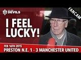 Sir Bobby Charlton: I Feel Lucky! | Preston North End 1 Manchester United 3 | FANCAM