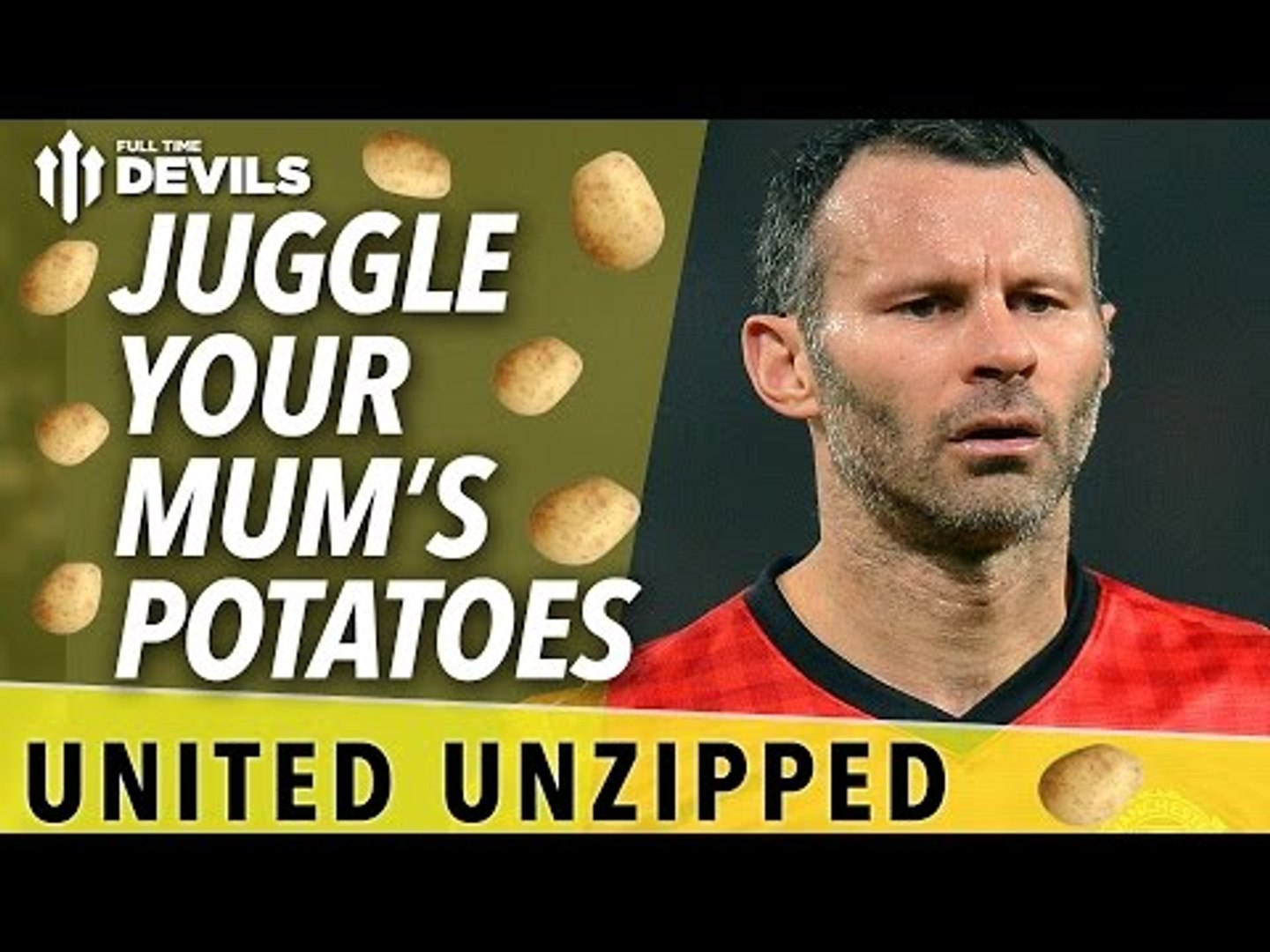 Juggle Your Mum's Potatoes | United Unzipped | Manchester United News