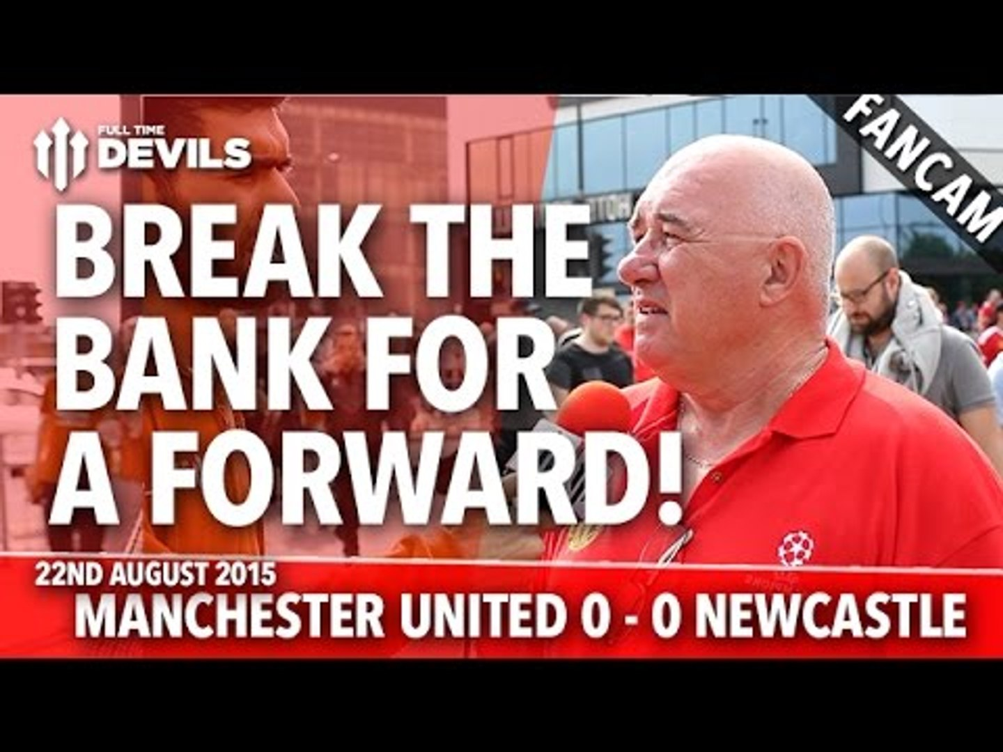 Break The Bank For A Forward | Manchester United 0-0 Newcastle United | FANCAM