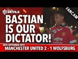 Bastian Is Our Dictator! | Manchester United 2-1 Wolfsburg | FANCAM