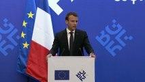 Conférence de presse d'Emmanuel Macron à Sofia à l'occasion du sommet européen sur les balkans occidentaux