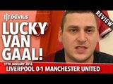 Mr Flying Pig HD's Review | LVG = Lucky Van Gaal | Liverpool 0-1 Manchester United