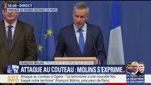 Attaque au couteau: le récit des évènements par François Molins