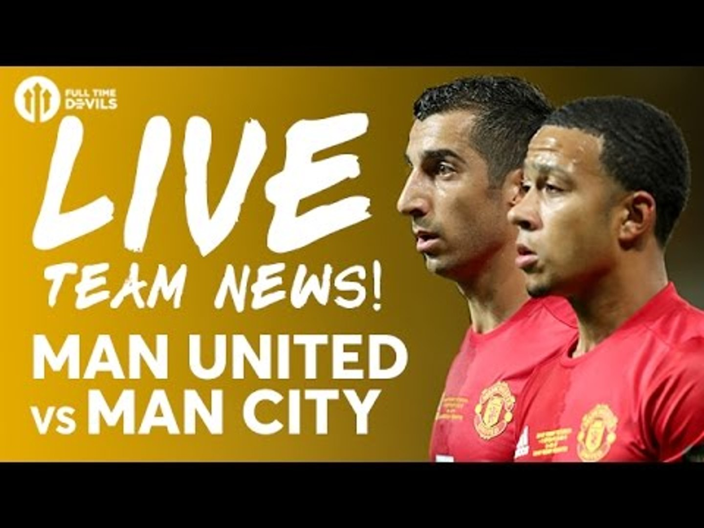 OH JUAN MATA! Manchester United vs Manchester City | LIVE DERBY Stream | Team News and More!