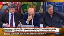 Pedro Guerra quase agride José Pina em direto