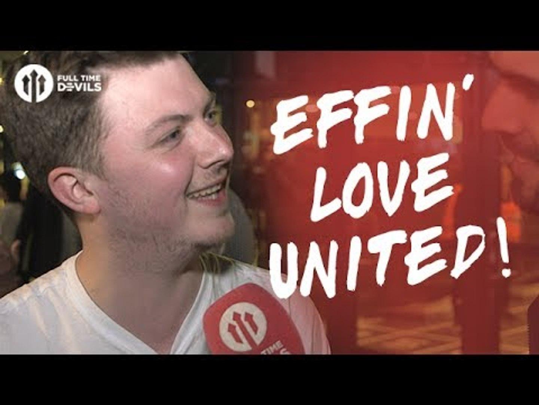 Effing Love United! | Ajax 0-2 Manchester United | FANCAM
