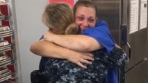 Florida Mom Wails as She Sees Military Daughter for the First Time in a Year
