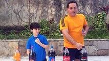 COCA-COLA E MENTOS (Incrível Pegadinha da Coca Cola) - Caduzinho Carvalho