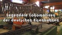 Legendäre Modellzüge und Lokomotiven der deutschen Eisenbahn bei der Modellbahn Eversum in Spur 0 - Ein Film von Pennula über digitale Modelleisenbahnen sowie Modellbahnen und Modellbau der Eisenbahn